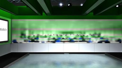 Virtual News Room Studio Sets Amp Backgrounds