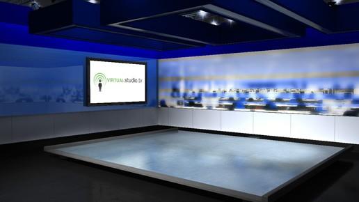 Virtual News Room Studio Sets Backgrounds Cambridgeshire Uk