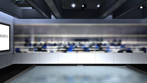 Virtual News Room Studio Sets & Backgrounds | Cambridgeshire UK